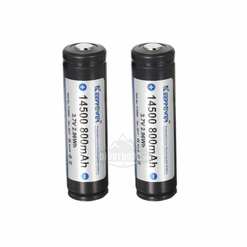 Pin KeepPower 14500, Pin sạc, Pin Lithium
